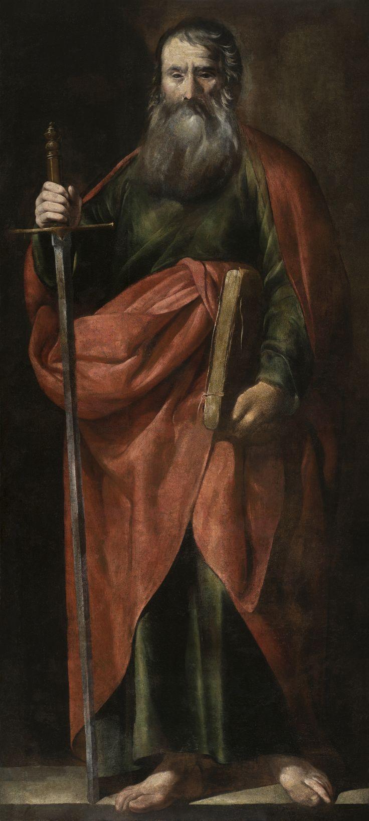 Saint Paul / San Pablo // 17th century // Circle of Antonio del Castillo Saavedra // Museo de Bellas Artes de Córdoba