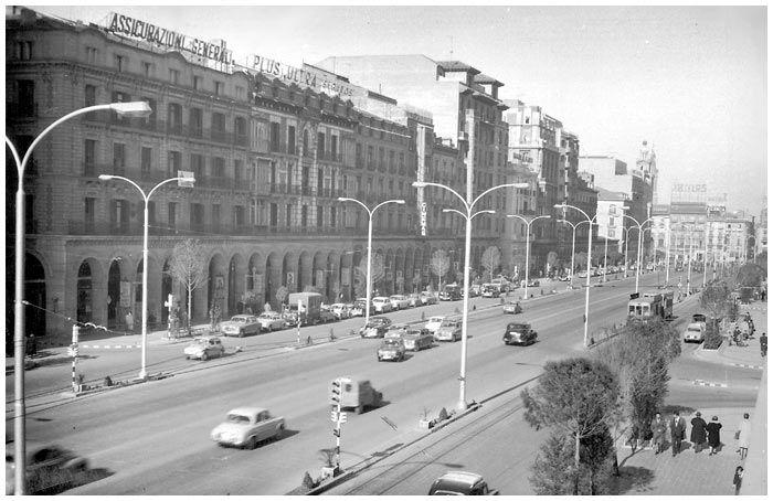 Paseo de la Independencia (Años 60)