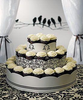 cupcakes wedding: Display Towers, Wedding, Grand Display, Cupcakes Display, Birds Damasks, Cupcakes Towers, Cupcakes Stands, Cupcake Towers, Cupcakes Rosa-Choqu