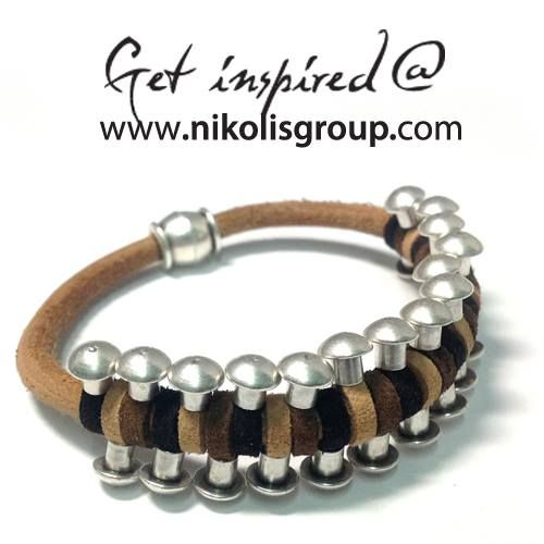 Men fashion bracelet!Discover all materials @www.nikolisgroup.com