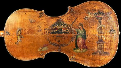 "Andrea Amati - ""The King"", circa 1538 AD    the oldest existing cello"
