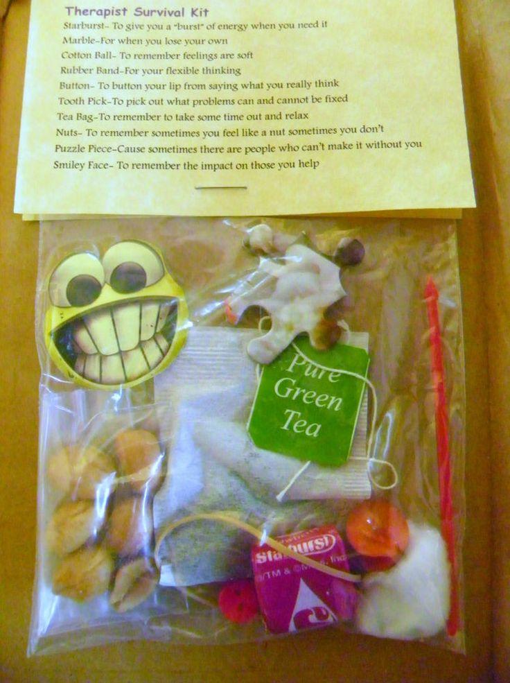 Therapist Survival Kit * 10 items inside - Novelty gift in Home & Garden | eBay