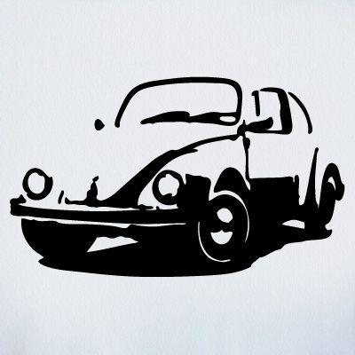 VW Beetle Stencil