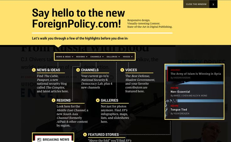 ForeignPolicy.com coachmarks