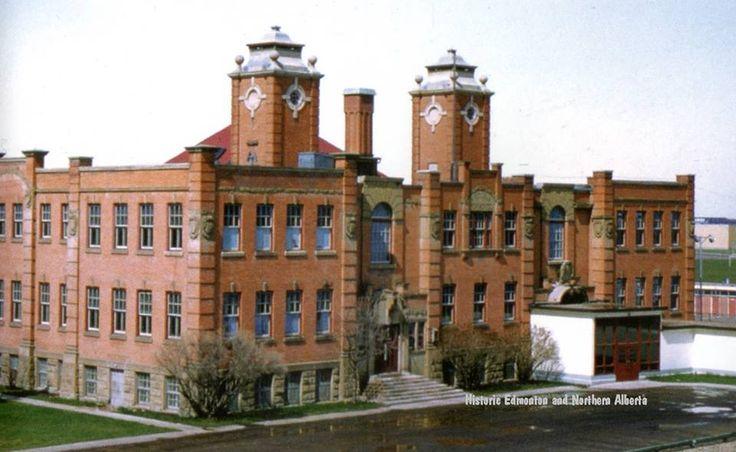 Victoria High School in Edmonton, 1962.