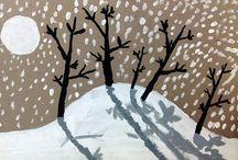 hiver arts visuels - Recherche Google