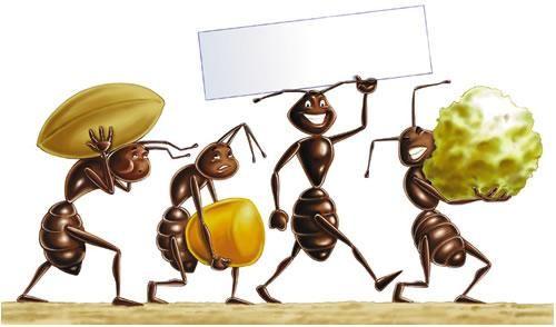 La #formica è saggia ed esperta, ma non abbastanza da prendersi una vacanza. Clarence Day