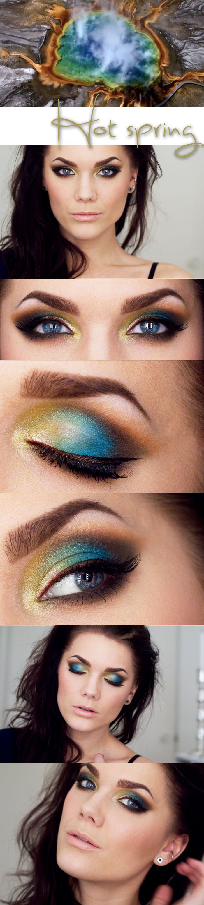 """Linda Hallberg """"Inspired by a Hot Spring"""" 