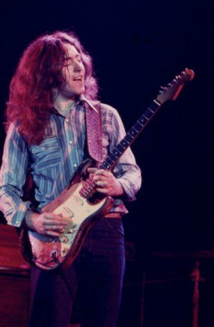 Rory Gallagher was a Strat Master famous for his... - Just Fender Stratocasters