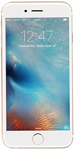 Apple iPhone 6s 16 GB International Warranty Unlocked Cellphone – Retail Packaging (Gold)