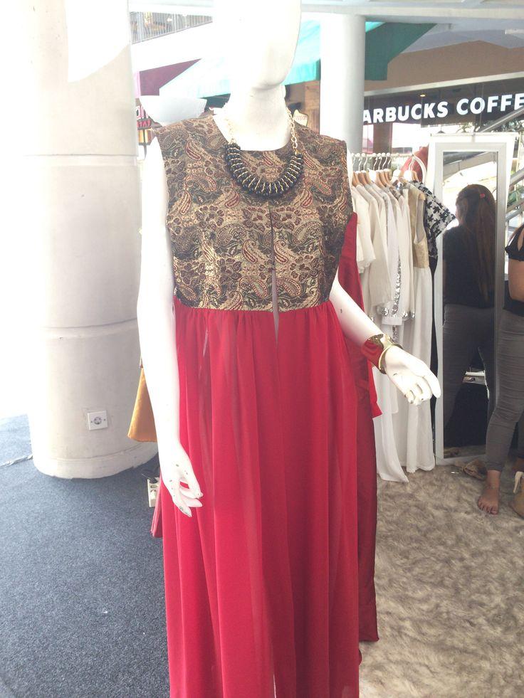 I designed dresses