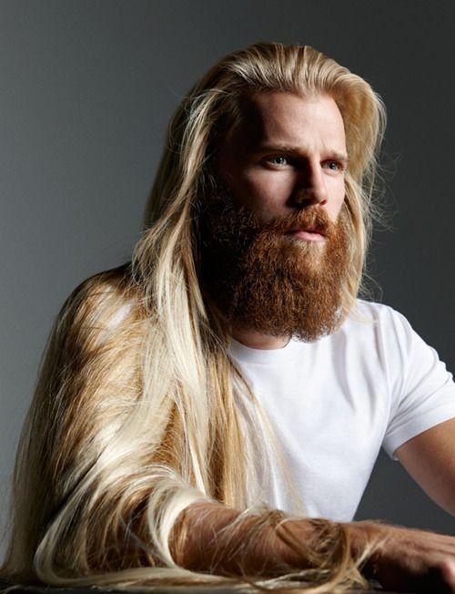 Hombre robusto con pelo