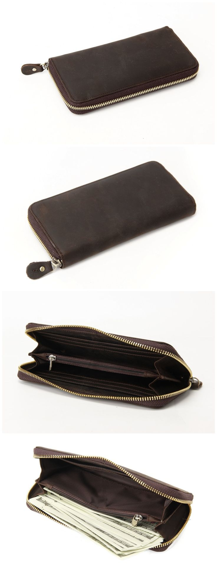 genuine leather wallet,Long Wallet,Money Bag