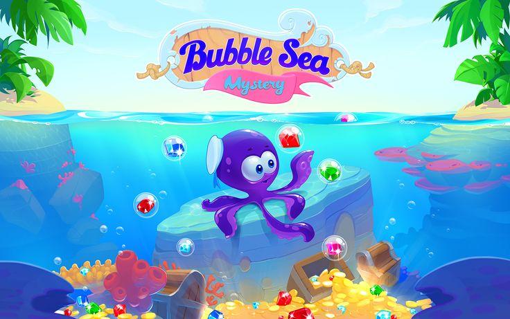 Bubble sea mystery on Behance