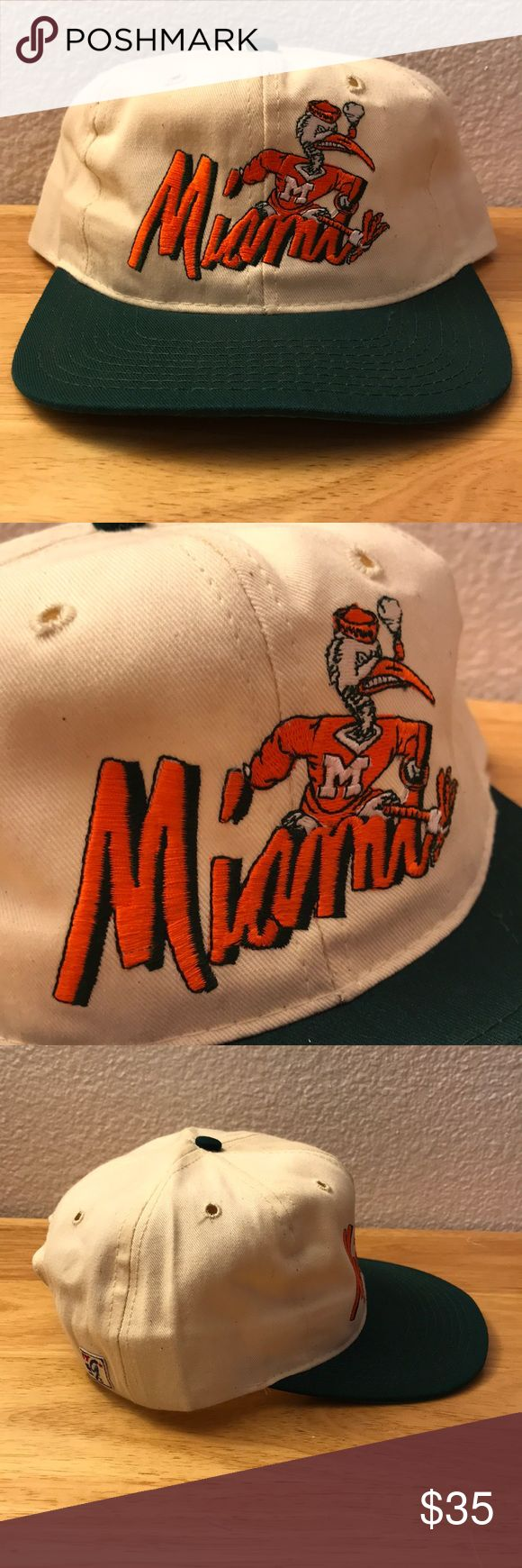 Vintage The Game Miami Hurricanes Hat Vintage The Game Miami Hurricanes Hat, Brand New, Never Worn or Used, 🎄WILL SHIP IN ONE DAY🎄All bundles of 2 or more receive 20% off. Closet full of new, used and vintage Vans, Skate and surf companies, jewelry, phone cases, shoes and more. The Game Accessories Hats