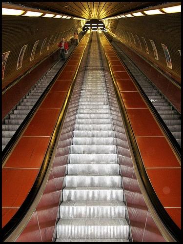 Jiriho Z Podebrad Metro Station Prague