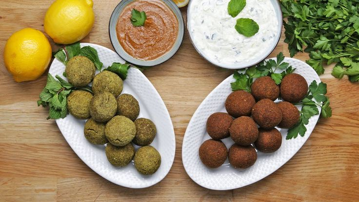 FALAFEL 2 WAYS : CLASSIC AND BAKED - YouTube