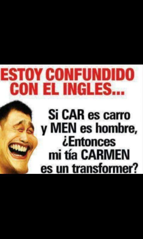 Oh... haha... spanish jokes... #spanish