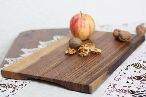 Walnut cutting board organic serving tray by JaraKacaHandmade