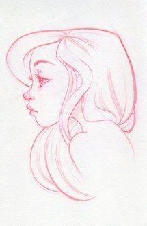 рисунок, девушка, арт, красивая