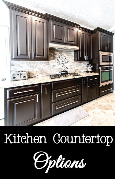 ... available. Here is a list of common countertop materials so you can