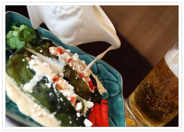 Authentic Mexican Chile Relleno Recipe | Muy Bueno Cookbook » Chiles Rellenos de Camarones y Queso (Cheese and ...