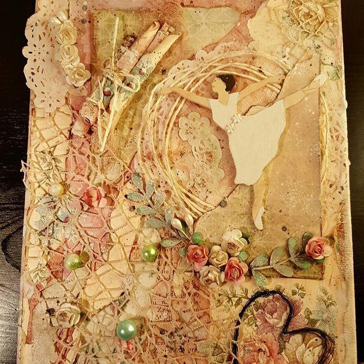 "Polubienia: 17, komentarze: 2 – Anna Sokola (@decor_manufacturing_) na Instagramie: ""For #girl #balletdancer #ballet #mixedmediacanvas 🌹#decoration #woodworking #handmade  #dekoracje…"""