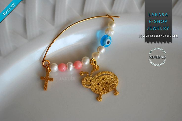#baby #girl #happy #ladybird #brooch #silver #jewelry #freshwater #pearl #motherday #joyas #mujer #woman #moda #jewellery #γυναικα #κοριτσι #δωρο #καρφιτσα #παραμανα #μωρο #βαπτιση #νεογεννητο #πασχαλιτσα