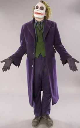 Breakdown of the Joker Costume