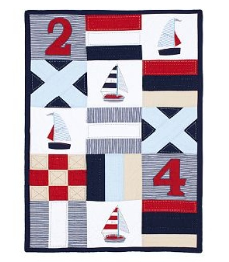 Pottery Barn Nautical Quilt: 81 Best Images About Nautical Nursery On Pinterest