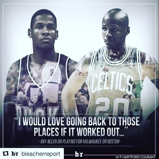 I do miss his time in Celtics @trayfour  #rayallen #rumor #kevingarnett #paulpierce #fanpage #nba #warriors #dubnation #celtics #cavs #spurs #okc #memphis #mavericks #rockets #sackings #clippers #bulls #lakers #timberwolves #blazers #raptors #kobebryant #curry #klaythompson #michaeljordan #kingjames #durant #sneakers