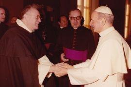 Pierre de Contenson et Paul VI, 1975