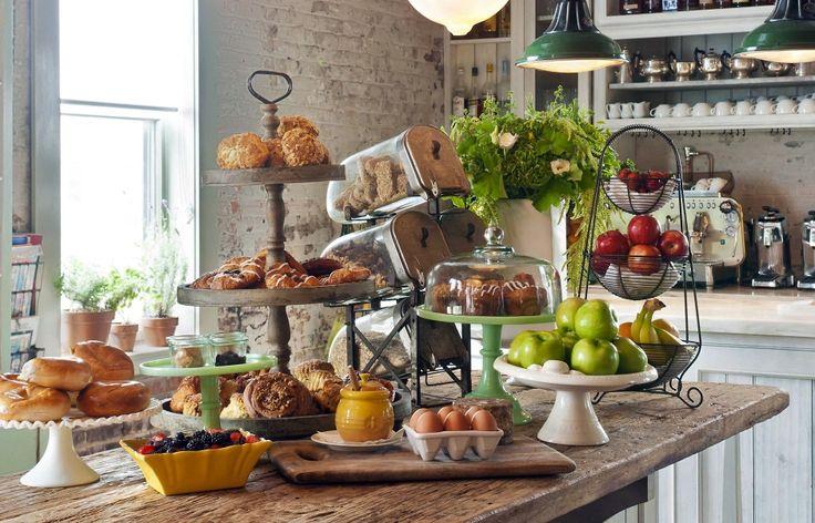 Soho House New York Luxury Hotels Breakfast Bar Food Best Breakfast Bars Food Display