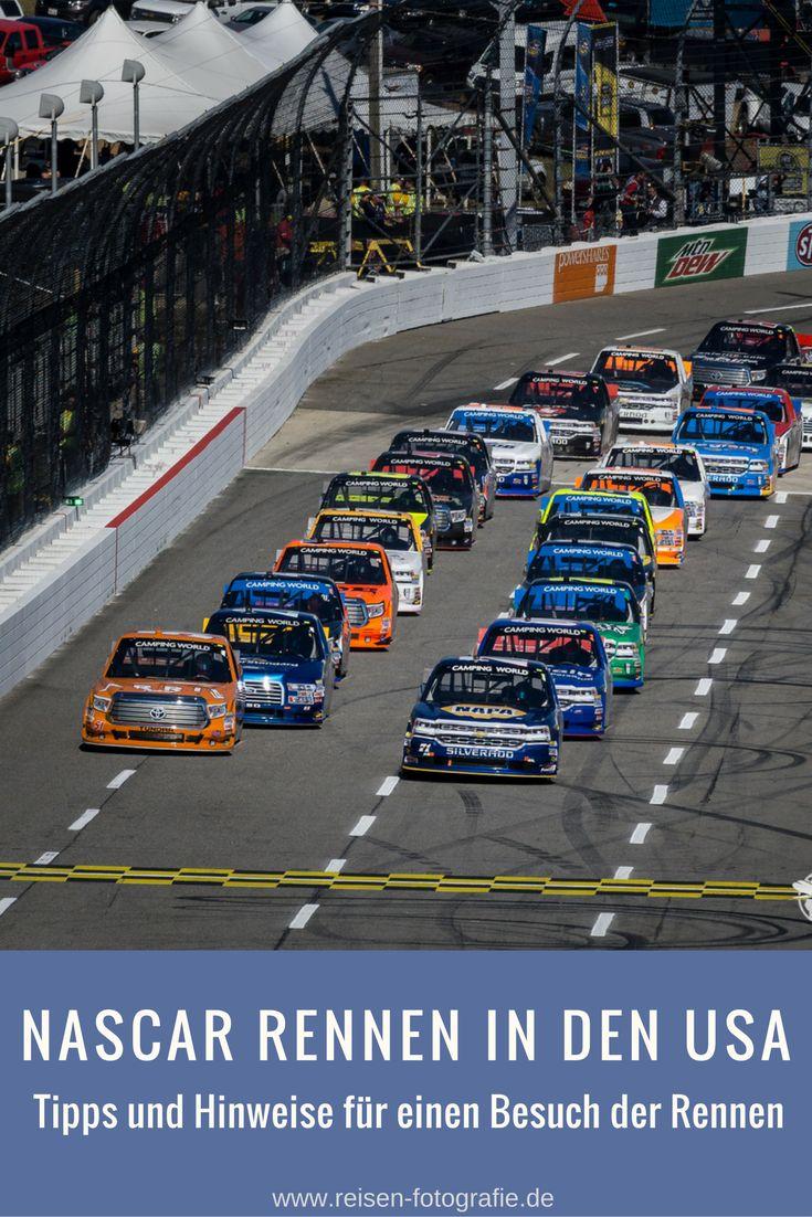Nach unserer zurück liegenden NASCAR Tour bekamen wir einige Anfragen, was denn alles bei einem Besuch eines NASCAR-Rennens zu beachten ist. Wo bekommt  man Eintrittskarten, welche Rennstrecken gibt es, wann sind die Rennen, wie läuft so ein Renntag eigentlich ab, was darf man mit zu Rennstrecke bringen und noch viele Fragen mehr. Es ist also Zeit, für einen etwas längeren Beitrag, um all diese Fragen zu beantworten.