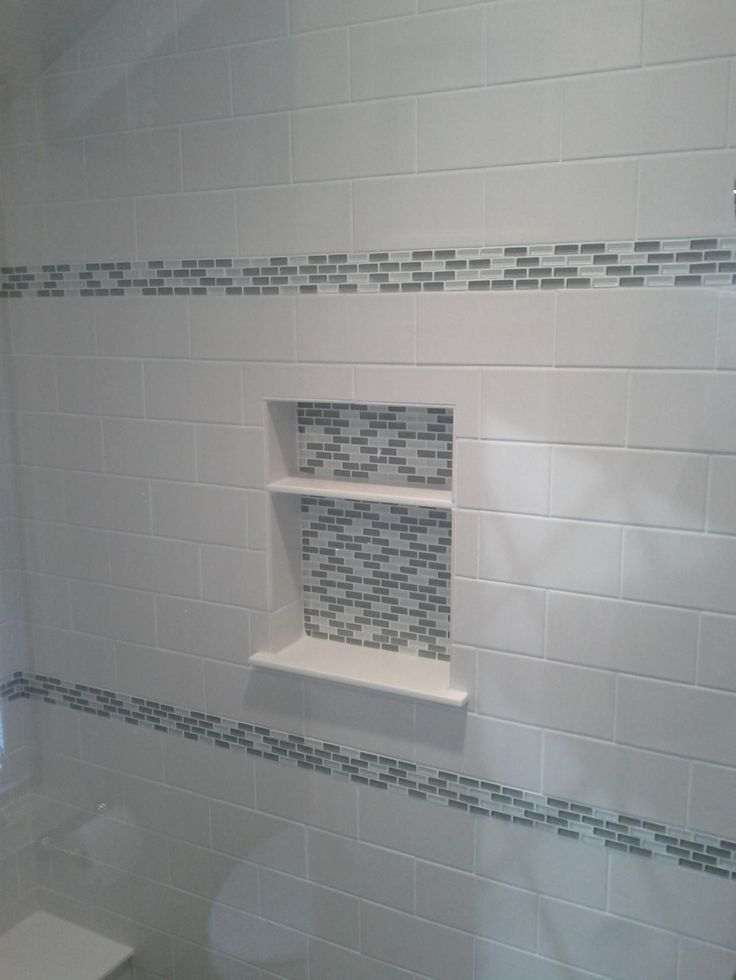 This Picture Shows A Bathroom Tile Remodeling Project In An Edina Shower.