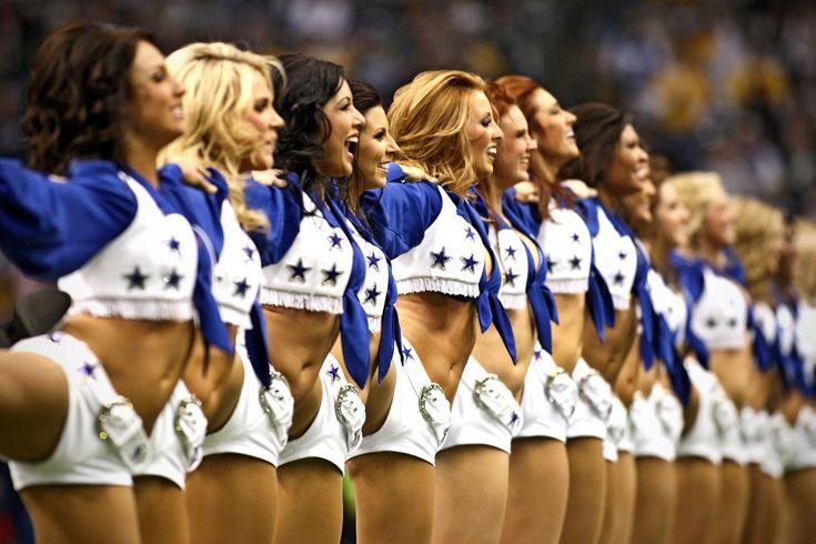 Dallas Cowboys Cheerleaders - Leg Hike