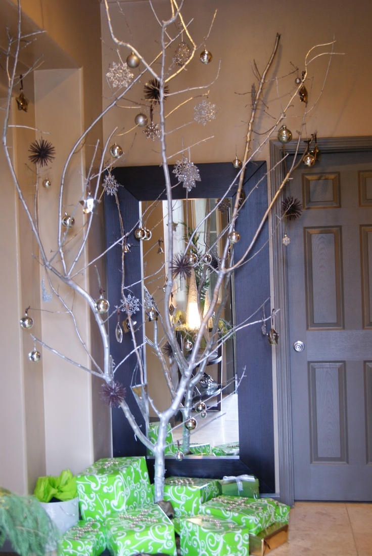 184 Best Images About Christmas Tree Branches Diy Videos