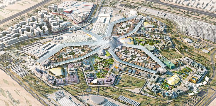 HOK designed a sustainable master plan for Dubai's winning bid for World Expo 2020.