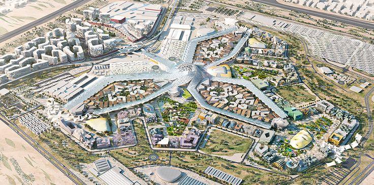 HOK designed a sustainable master plan for Dubai's winning bid for World Expo 2020.                                                                                                                                                     More