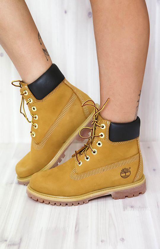 a9ca7cde1011 Timberland - 6-Inch Premium Waterproof Boots - Wheat Nubuck