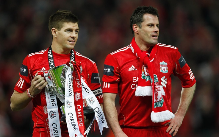 Steven Gerrard & Jamie Carragher, true legends of the club.