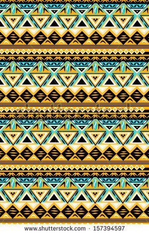ethnic pattern by kenee, via ShutterStock