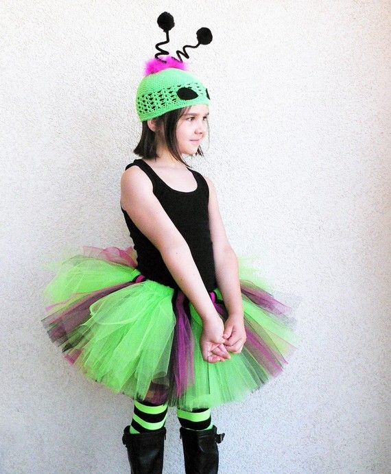 Alien Princess Custom Sewn Alien Tutu Costume by TiarasTutus, $48.00