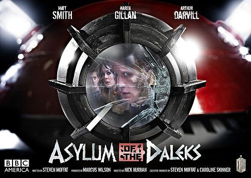 Doctor Who and the Asylum of the Daleks poster. AWESOME!Girls, Seasons, Dalek Posters, Doctors Who, Posters Art, Doctorwho Shakes, Nutty Dalek, Style Posters