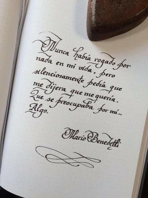 Algo...(silenciosamente). Mario Benedetti.