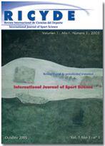 RICYDE. Revista Internacional de Ciencias del Deporte. doi:10.5232/ricyde