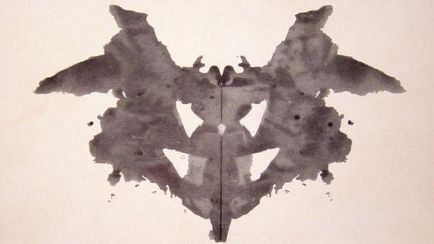 ¿Por qué la gente ve cosas en la prueba de las manchas de Rorschach?