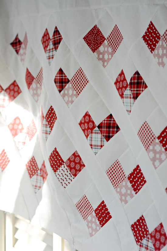 Country Hearts Quilt « Moda Bake Shop