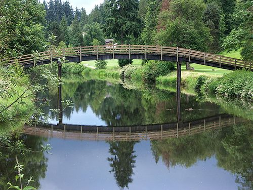 Just like the Monet picture above only this is REAL.City of Bothell in Washington