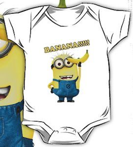 Despicable Me Minion Banana Infant Bodysuit